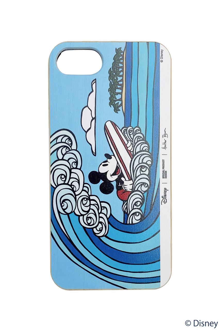 インショア/INSHOREの【SURF MICKEY COLLECTION / Heather Brown 】iPhone8(WAVE RIDER/SM20SS-HBIP05)