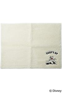 <ELLE SHOP>【SURF MICKEY】バスマット ホワイト