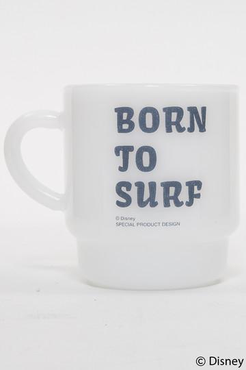 インショア/INSHOREの【UNISEX】【SURF MICKEY】マグ(BORN TO SURF/MW-MGD07)