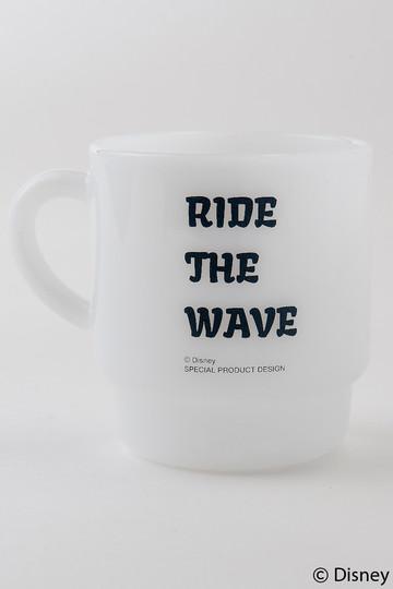 インショア/INSHOREの【UNISEX】【SURF MICKEY】マグ(RIDE THE WAVE/MW-MGD02)
