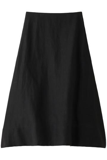 イレーヴ/YLEVEのリネンタンブラーロングスカート(ブラック/16891 30 034)