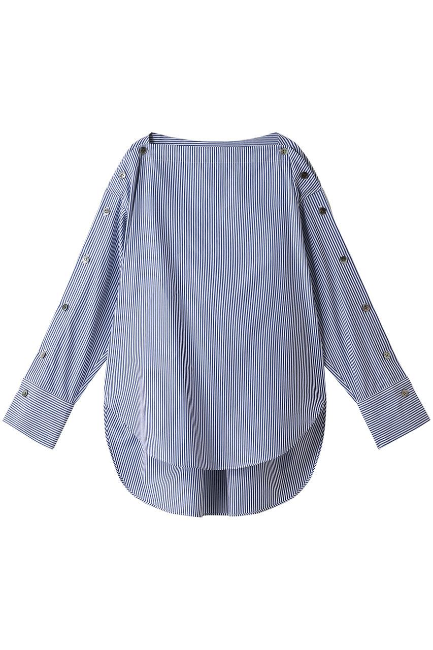 エッセン.ロートレアモン/ESSEN.LAUTREAMONTのフィンクスウェザーボタンシャツ(ブルー/3173-91071)