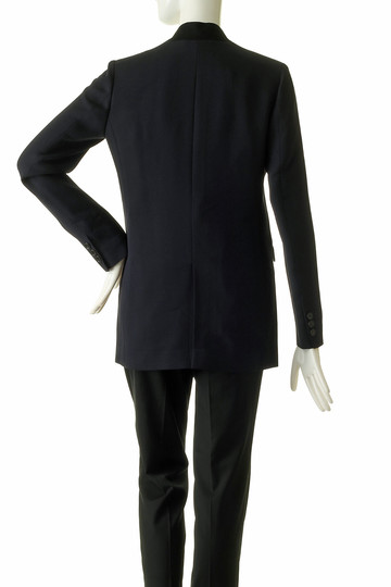 エッセン.ロートレアモン/ESSEN.LAUTREAMONTのスタンドテイラードジャケット(ブラック/3105-75607)
