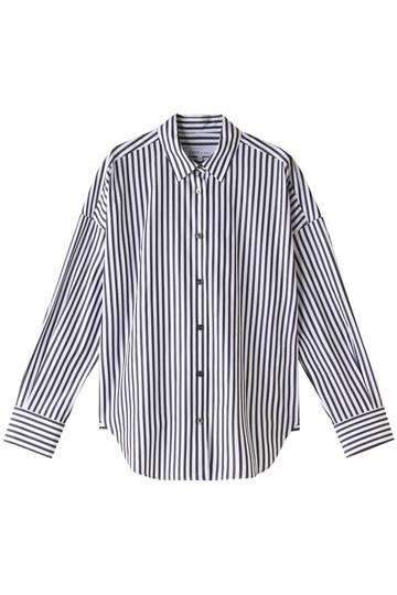 エッセン.ロートレアモン/ESSEN.LAUTREAMONTのALBINIオーバーサイズシャツ(ブラック2/3106-75518)