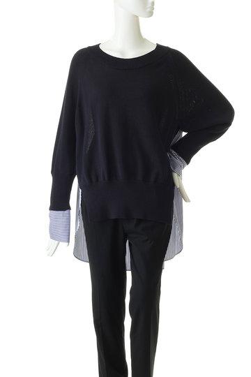 エッセン.ロートレアモン/ESSEN.LAUTREAMONTのシャツドッキングニット(グレー/3112-81523)