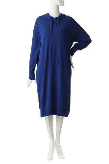 エッセン.ロートレアモン/ESSEN.LAUTREAMONTのフーテッドニットドレス(チャコールグレー/3101-81543)