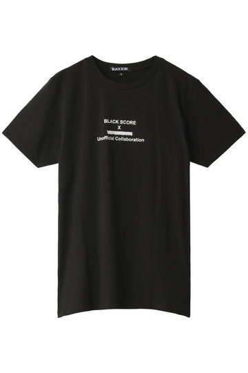 ESSEN. LAUTREAMONT エッセン.ロートレアモン 【BLACKSCORE】 Tシャツ ブラック