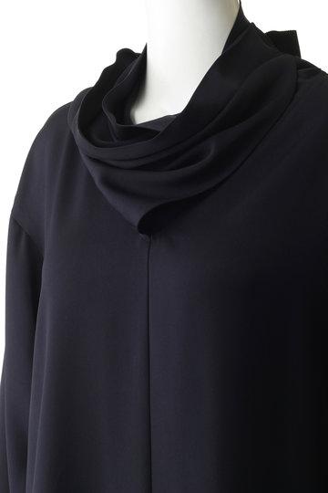 エッセン.ロートレアモン/ESSEN.LAUTREAMONTのスカーフデザインブラウス(ネイビー/3113-81568)