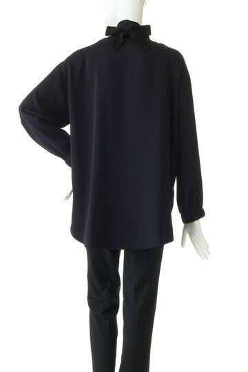 エッセン.ロートレアモン/ESSEN.LAUTREAMONTのスカーフデザインブラウス(ブラック/3113-81568)