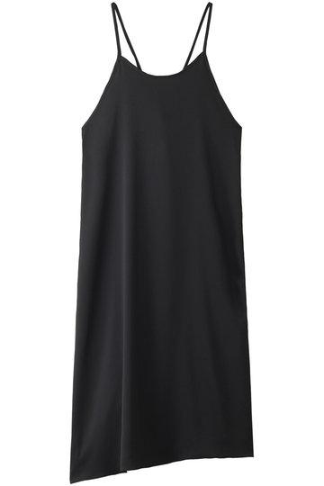 エッセン.ロートレアモン/ESSEN.LAUTREAMONTのハンマーサテンキャミドレス(ブラック/3101-83545)