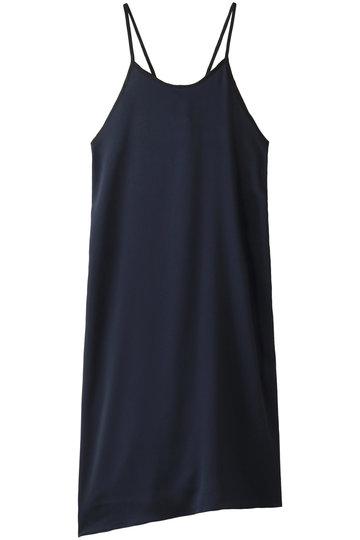 エッセン.ロートレアモン/ESSEN.LAUTREAMONTのハンマーサテンキャミドレス(ネイビー/3101-83545)