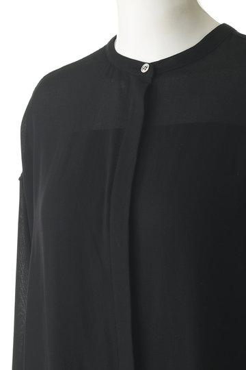 エッセン.ロートレアモン/ESSEN.LAUTREAMONTのボイルシャツワンピース(ブラウン/3113-82514)
