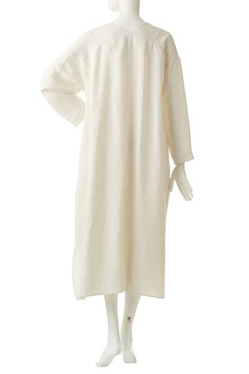 エッセン.ロートレアモン/ESSEN.LAUTREAMONTのVネックドレス(ホワイト/3101-81598)