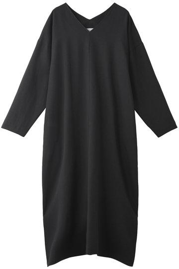 エッセン.ロートレアモン/ESSEN.LAUTREAMONTのVネックドレス(ブラック/3101-81598)