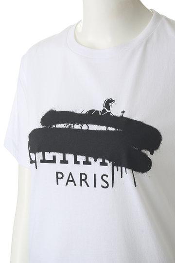 エッセン.ロートレアモン/ESSEN.LAUTREAMONTの【BLACKSCORE】Tシャツ A(ホワイト/3103-82502)