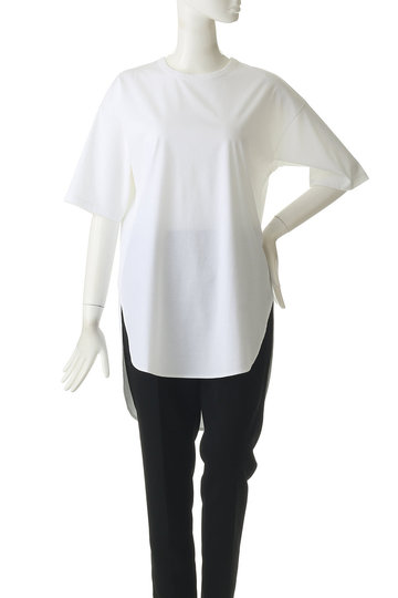 エッセン.ロートレアモン/ESSEN.LAUTREAMONTのシャツラウンドカットソー(ホワイト/3107-84519)