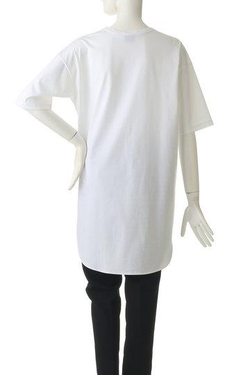 エッセン.ロートレアモン/ESSEN.LAUTREAMONTのシャツラウンドカットソー(ブラック/3107-84519)