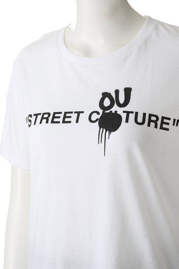 エッセン.ロートレアモン/ESSEN.LAUTREAMONTの【BLACKSCORE】Tシャツ D(ホワイト/3103-83503)