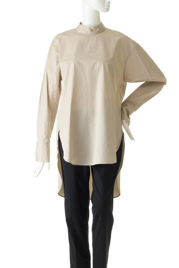 エッセン.ロートレアモン/ESSEN.LAUTREAMONTのALBINI ハイネックシャツ(ベージュ/3173-85018)