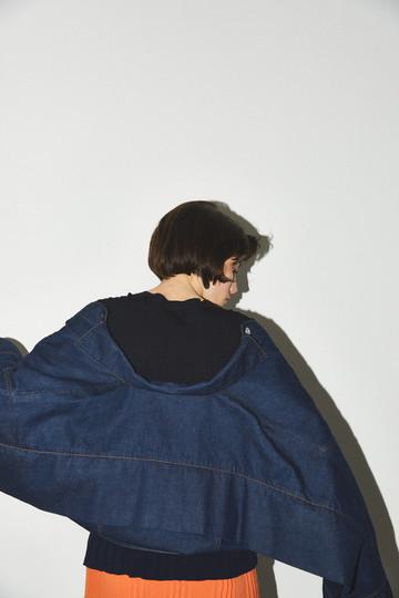 ナゴンスタンス/nagonstansのOval Over ジャケット H /デニムジャケット(Indigo/470BA110-5370)