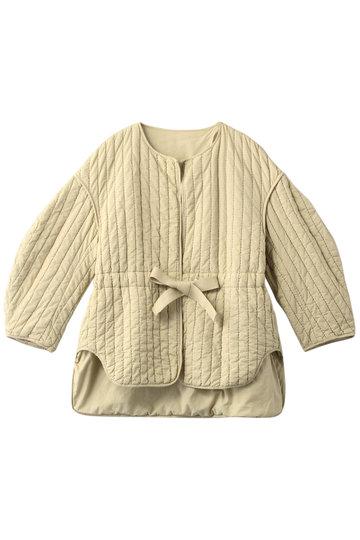 ナゴンスタンス/nagonstansのコットンキルティング ジャケット(Ivory/470CS830-5900)