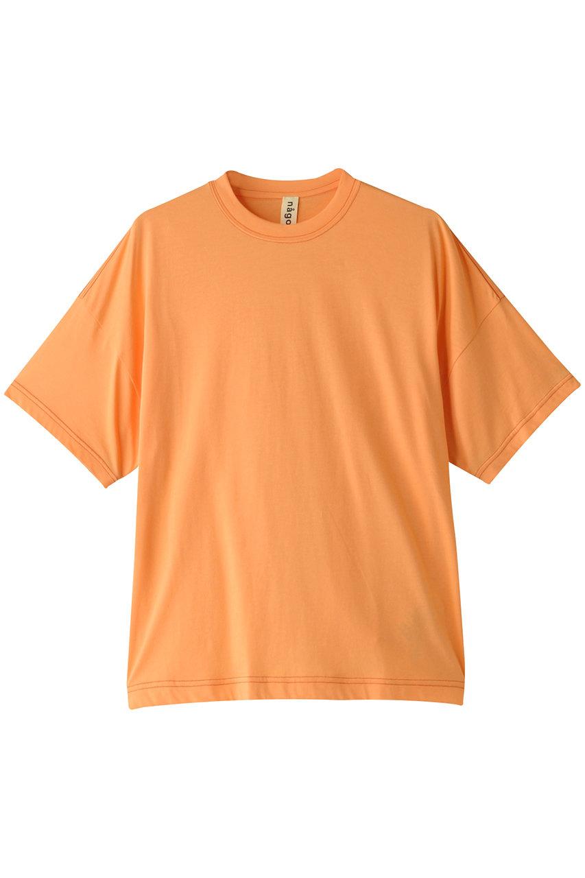 ナゴンスタンス/nagonstansのペルーSoft天竺 ルーズステッチTシャツ(アプリコット/470DS180-6580)