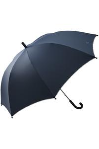 <ELLE SHOP> POMPKINS ポプキンズ 【KIDS】リボン刺繍傘 ネイビー画像