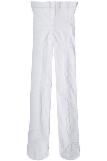 <ELLE SHOP>【KIDS】バックリボンタイツ ホワイト
