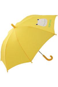 <ELLE SHOP> POMPKINS ポプキンズ 【KIDS】かえる傘 イエロー画像