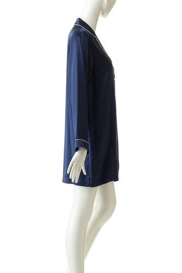 プライベート・スプーンズ・クラブ/Priv. Spoons Clubのシルクパジャマ/ドレス(ネイビー/P1912-10037)