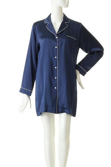 プライベート・スプーンズ・クラブ/Priv. Spoons Clubのシルクパジャマ/ドレス(ホワイト/P1912-10037)