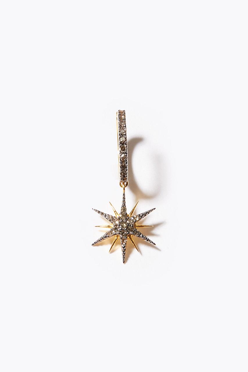 アルティーダ ウード/ARTIDA OUDのselene グランスター パヴェダイヤモンド イヤーカフ(グレー/1220420300415000)