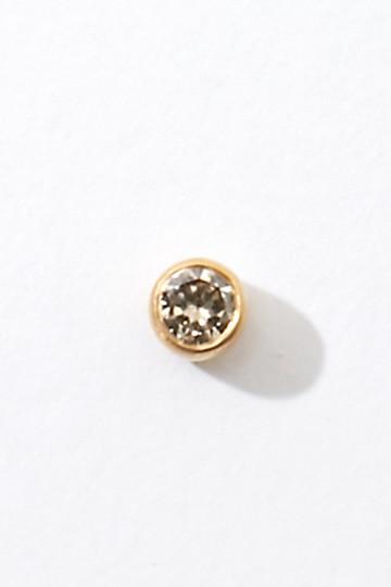 アルティーダ ウード/ARTIDA OUDのjasminK10 一粒ダイヤモンドピアス(片耳用)(ホワイト/1118110101310000)