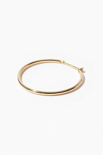 アルティーダ ウード/ARTIDA OUDのbone オーガニック thinmiddle フープピアス(ゴールド/1218210102104000)