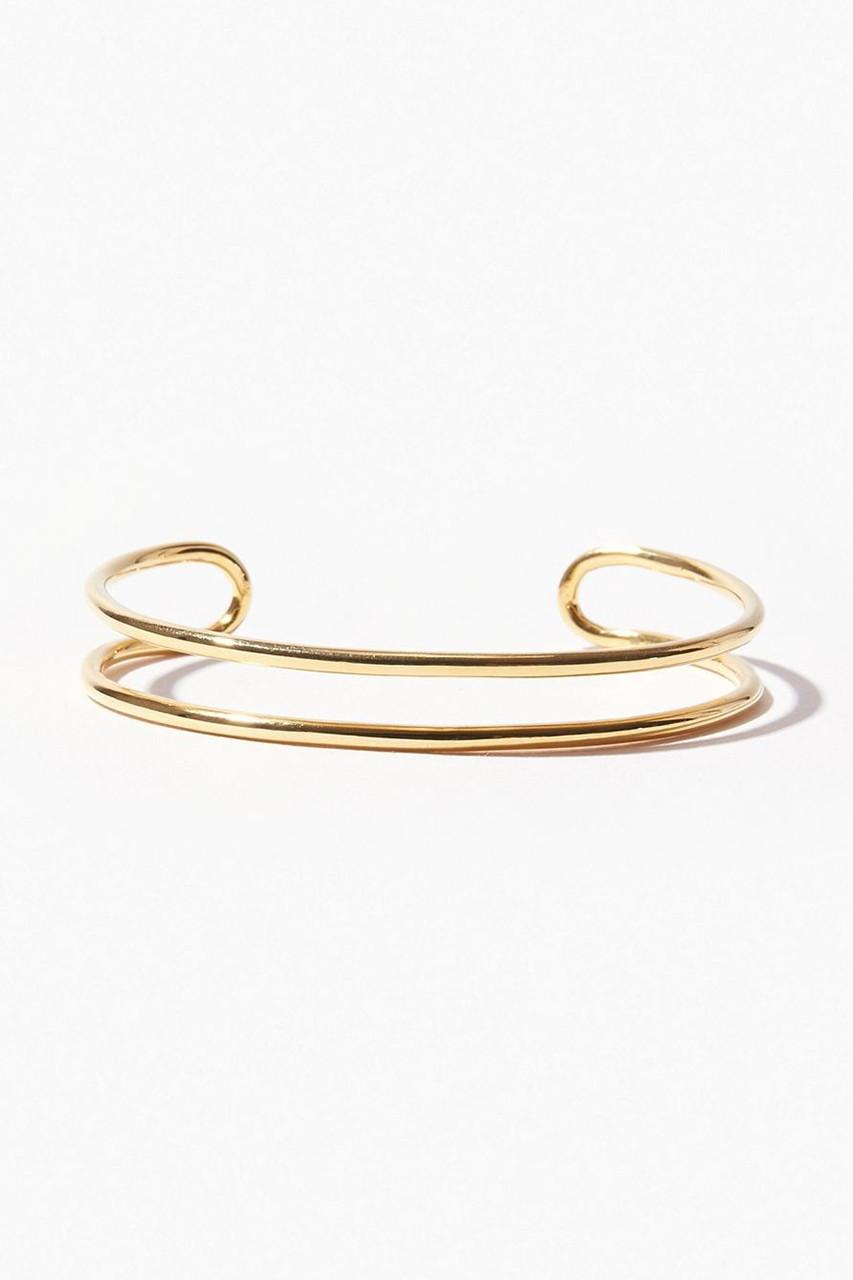 アルティーダ ウード/ARTIDA OUDのbone オーガニック thin ダブルバングル(ゴールド/1218210700204000)