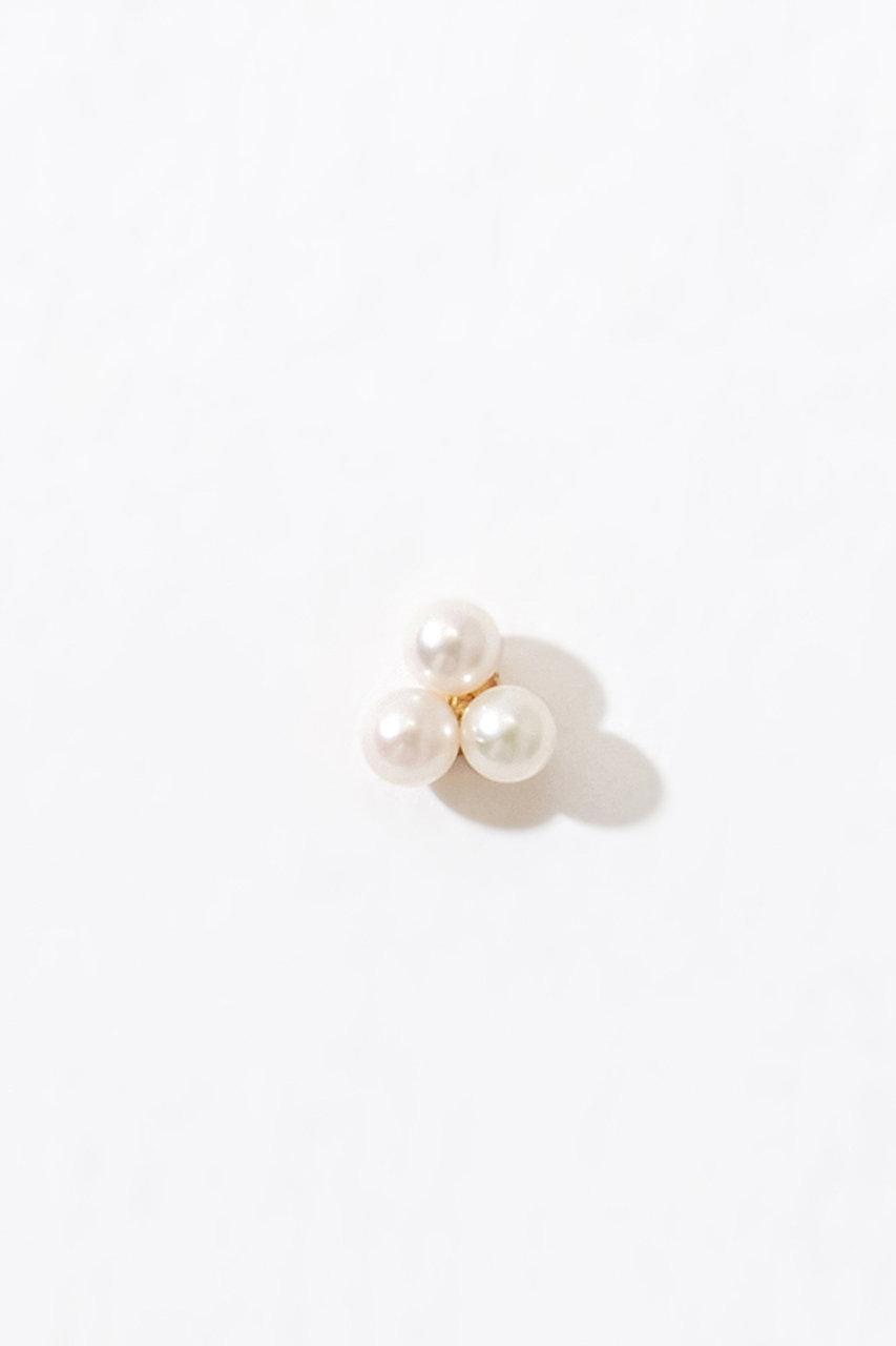 アルティーダ ウード/ARTIDA OUDのmoon drops K10 グレープアコヤベビーパールシングルピアス(片耳用)(ホワイト/1118110102610000)