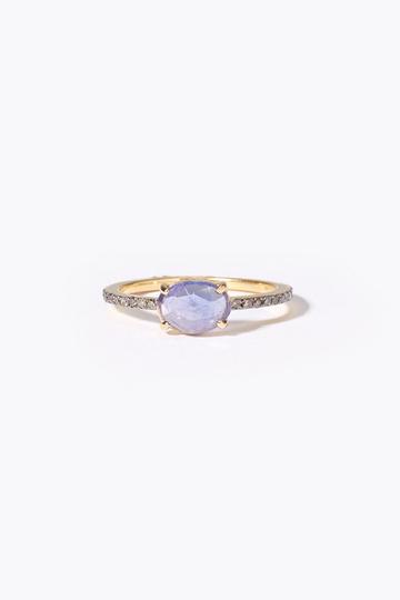 アルティーダ ウード/ARTIDA OUDのelafonisi タンザナイトパヴェダイヤモンドエタニティリング(ブルー/1219210500341011)