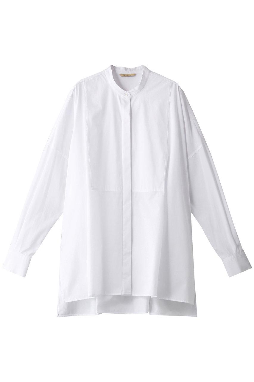 Curensology カレンソロジー バンドカラーシャツ ホワイト