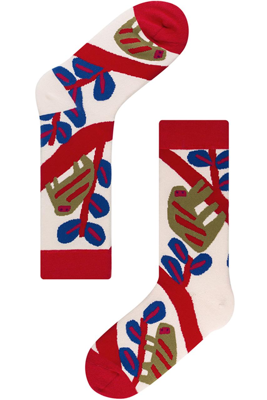 socks appeal ソックスアピール 【OTTAIPNU×socksappeal】ソックス ブラブラナマケモノ