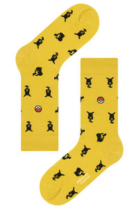 <ELLE SHOP> socks appeal ソックスアピール 【Pocket Monsters socksappeal】【ポケットモンスターソックスアピール】 Pikachu-シルエット