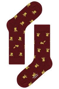 <ELLE SHOP> socks appeal ソックスアピール 【Pocket Monsters socksappeal】【ポケットモンスターソックスアピール】 Pikachu-レッド