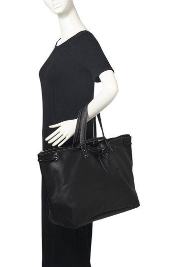 ア ヴァケーション/A VACATIONの【予約販売】MARINE L 3wayトートバッグ(ブラック×ブラック/8073-L)