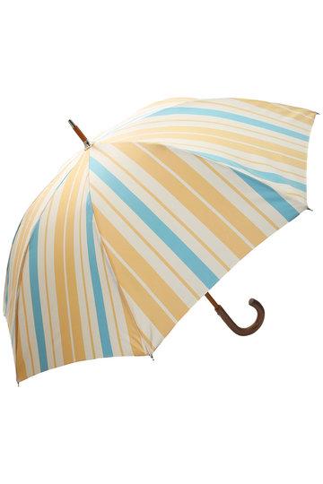 プラデル/Pradelleのストライプ日傘(晴雨兼用)(イエローマルチ(太)/MO92311PP_A-2)