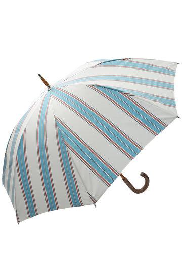 プラデル/Pradelleのストライプ日傘(晴雨兼用)(ブルーマルチ/MO92311PP_A-2)