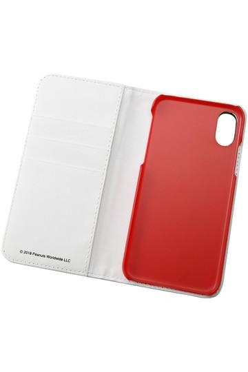 スマートフォングッズ/SMART PHONE GOODSのiPhone5.8inch/Ⅹ対応フリップカバー(チャーリー・ブラウン&スヌーピー/SNG-303A)