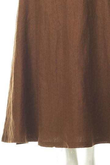 ブルーバード ブルバード/BLUEBIRD BOULEVARDのリネンサーキュラースカート(キャラメル/11RFABOT-01C)