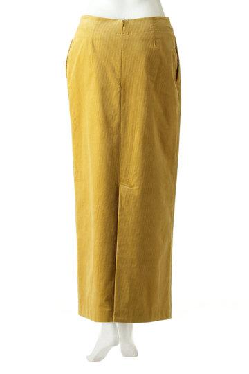 ブルーバード ブルバード/BLUEBIRD BOULEVARDのコーデュロイマキシスカート(イエロー/12RFABOT-01C)