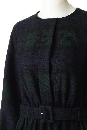 ブルーバード ブルバード/BLUEBIRD BOULEVARDの【予約販売】ウールマキシドレス(ブラックウォッチ/12RFADRE-04CELLE)