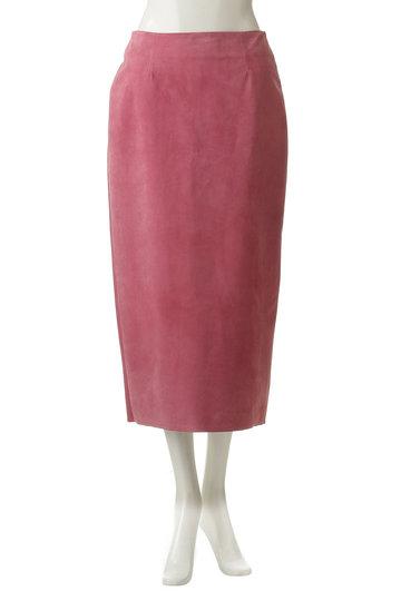 ブルーバード ブルバード/BLUEBIRD BOULEVARDの【予約販売】ピッグスエードタイトスカート(ピンク/12RLEBOT-05TO)