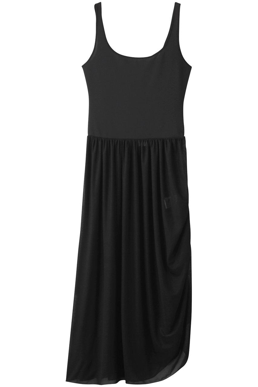 SALE 【50%OFF】 BAUME ボーメ タンクジャージーコードブラウジングドレス ブラック